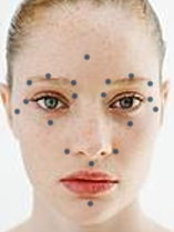 Acupressure facial point
